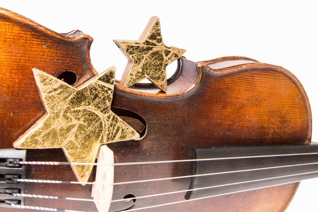 braune Violine