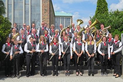 Gruppenbild Musikverein Petersberg